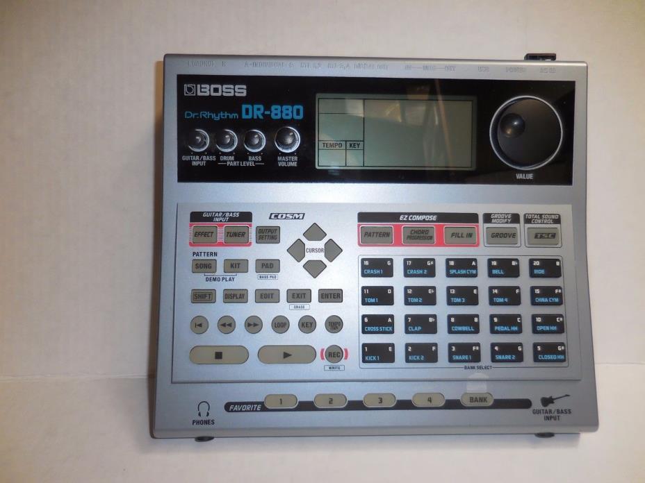 Doctor Rhythm Boss DR 880 drum machine