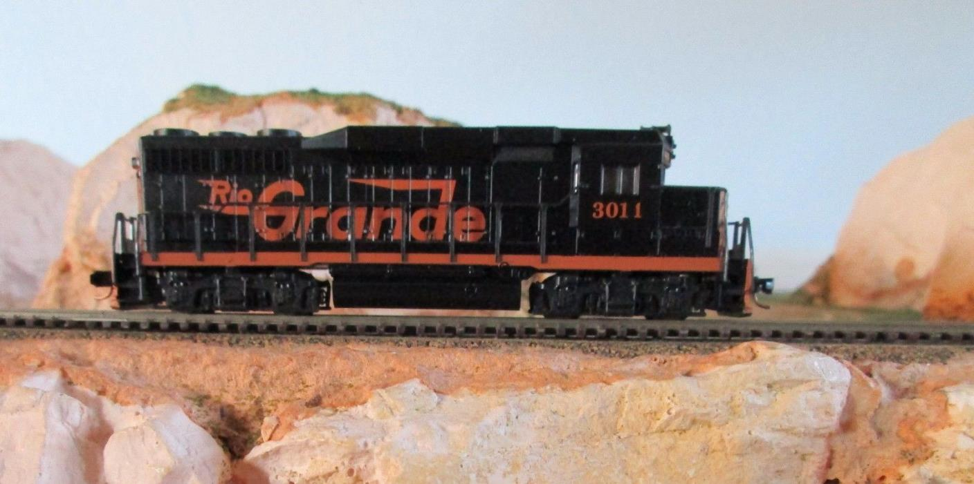KATO/Atlas  N Scale  GP-30 diesel / RIO GRANDE road #3011 / preowned