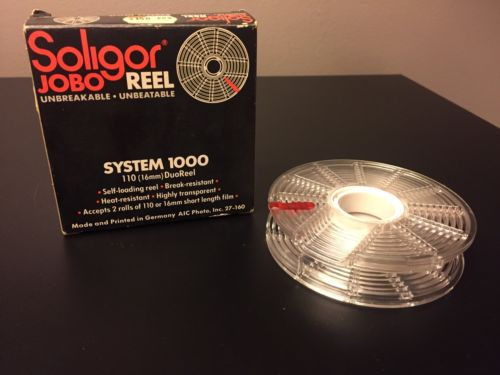 Soligor Jobo Reel System 1000, 16mm & 110 Film