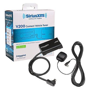 SiriusXM Satellite Radio Hideaway Tuner and Antenna New SXV200V1