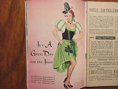 Mar-1954 TV Guide(MARY ELLEN TERRY/DEATH VALLEY DAYS/CHARLIE FARRELL/JOHN NELSON
