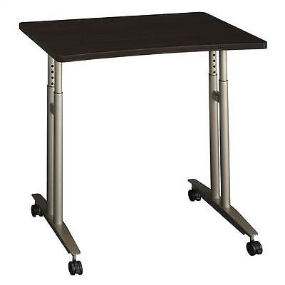 Mobile Office Table w Height Adjustable Work Surface [ID 320090]