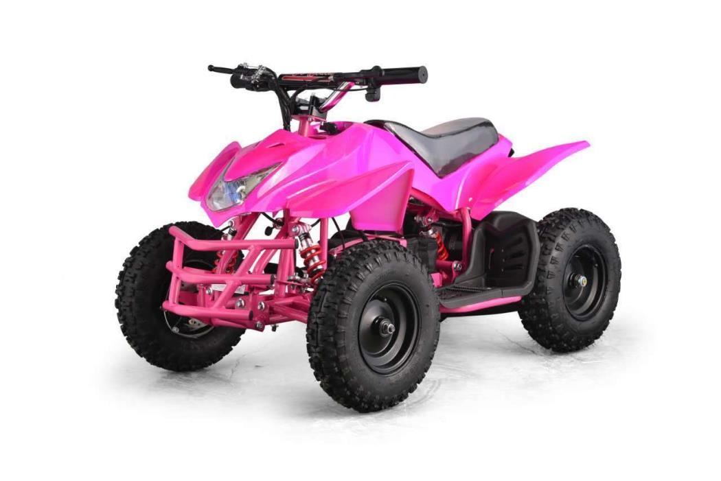 Go Bowen Kids Electric ATV 4 Wheeler Titan 24V 350W 2 Speed Multiple Colors!