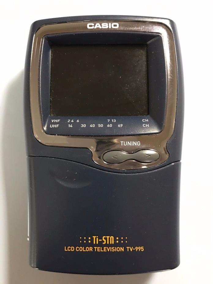 Vintage Casio TV-995 2