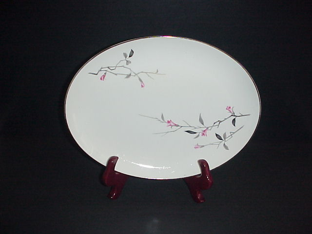 Cherry Blossom Platter Fine China 1067 Japan Vintage 12