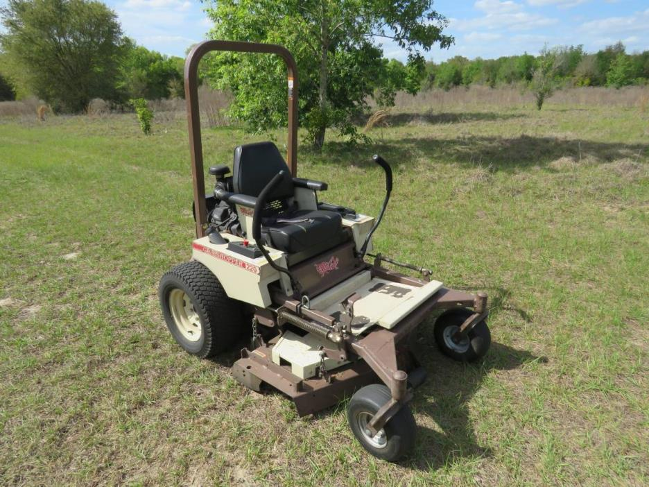 2009 Grasshopper zero turn mower 48 inch deck
