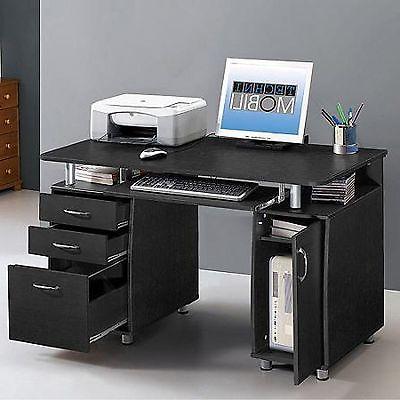 Techni Mobili Super Storage Computer Desk in Espresso