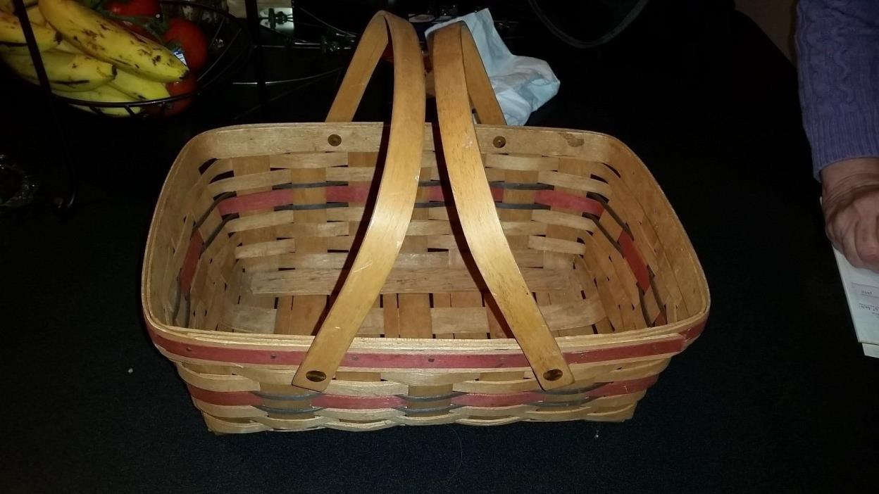 Longaberger Basket Large For Sale Classifieds