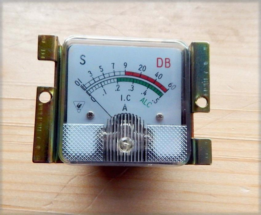 Front panel S meter for Yaesu FT-101 E series