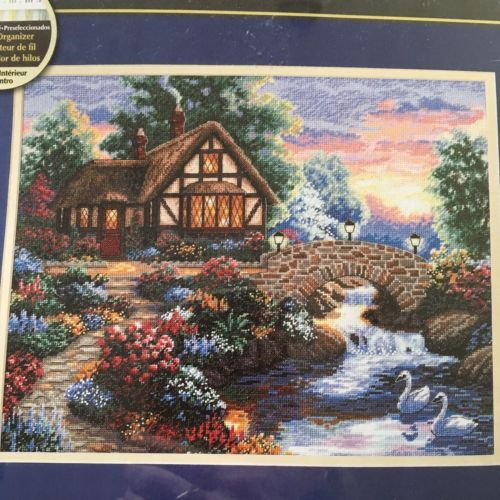 Dimensions GOLD Twilight Bridge Counted  Cross Stitch Kit NEW