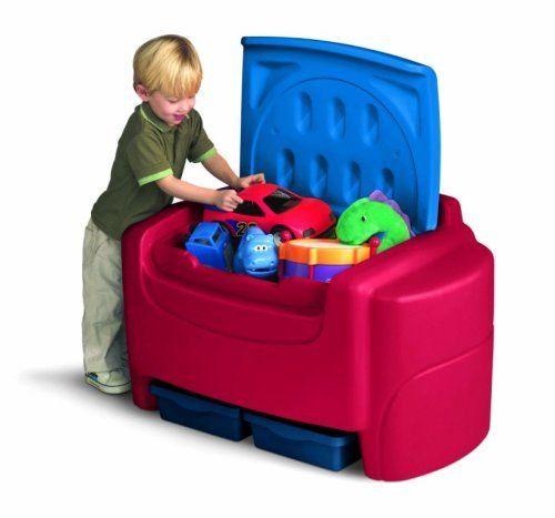Little Tikes Toy Box Top Toddler Toys Big Storage Kids Closet Organizer Clean