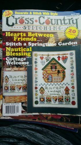 Cross Country Stitching Magazine April 1999