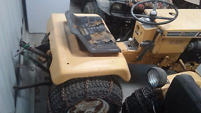 Allis Chalmers B212 Garden Tractor and attachments