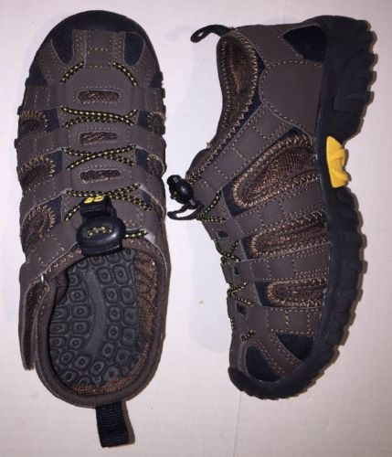 Crazy 8 Boys Brown Online Shoes Size 2 Velcro Close