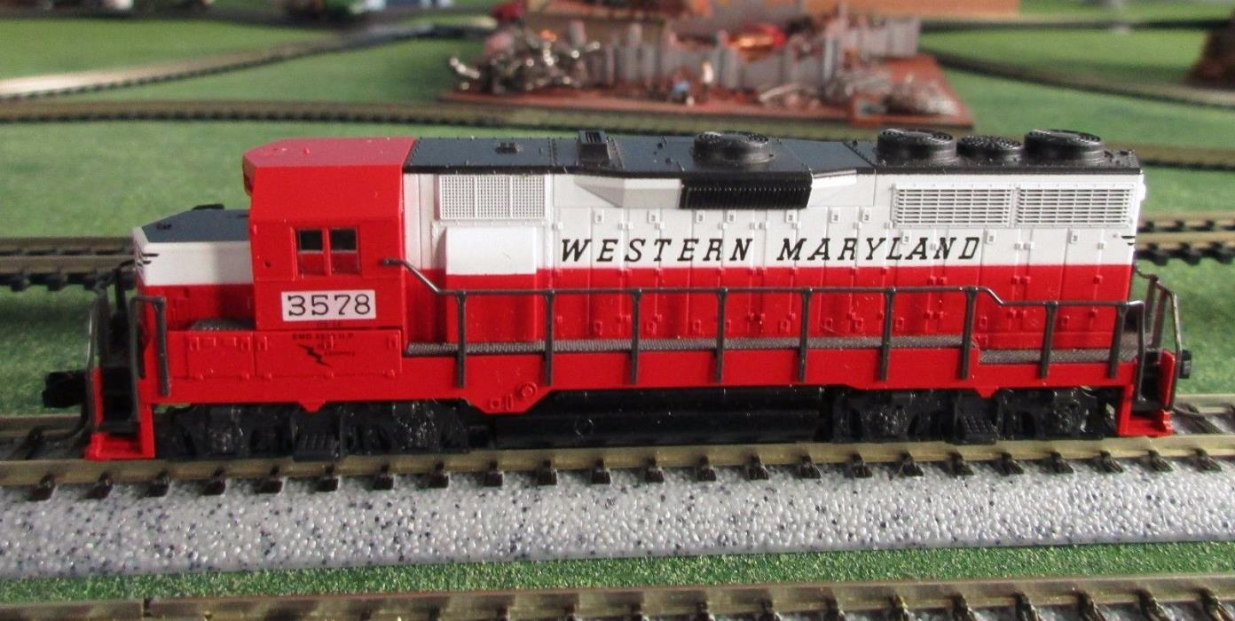 KATO/Atlas  N Scale  GP-30 diesel / WESTERN MARYLAND road #3578 / preowned