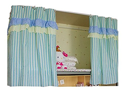 Kangkang@ Bed Curtain Dormitory Shading Cloth Dormitory Decoration LIGHT BLUE