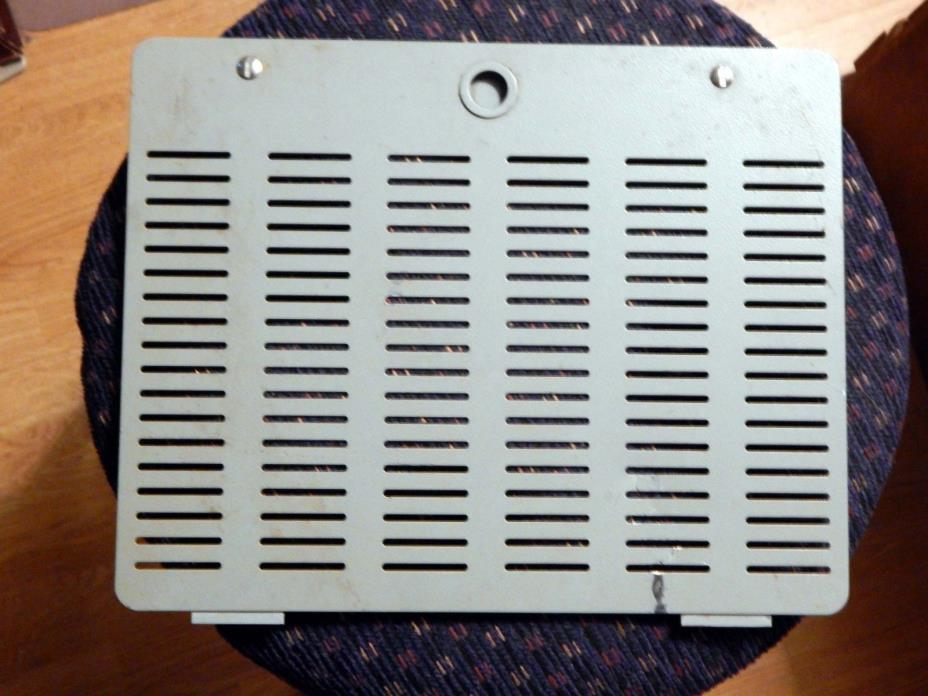Cabinet cover with chrome lock downs for Yaesu FT101 E series