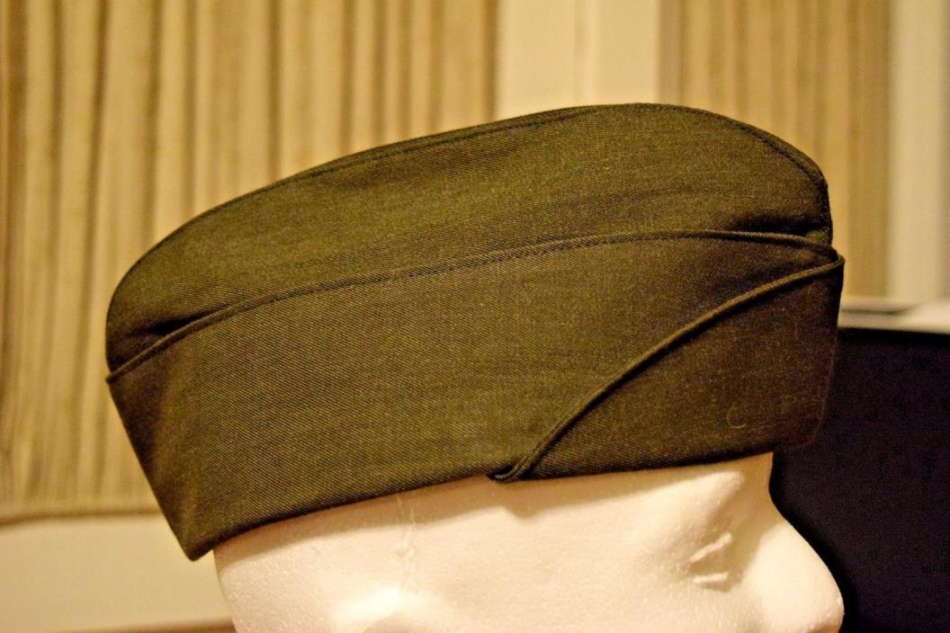 DSCP Valor Collection Green Garrison Cap Campaign Envelope Military Uniform Hat