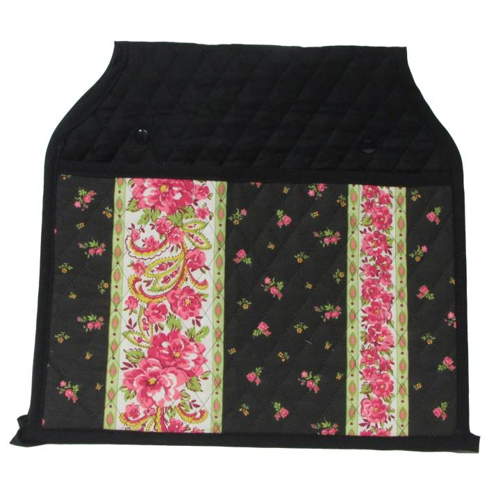 PINK ROSE WALKER POCKET Walker Tote Bag Organizer Quilted