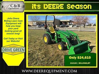 2014 John Deere 2032R Utility Tractors