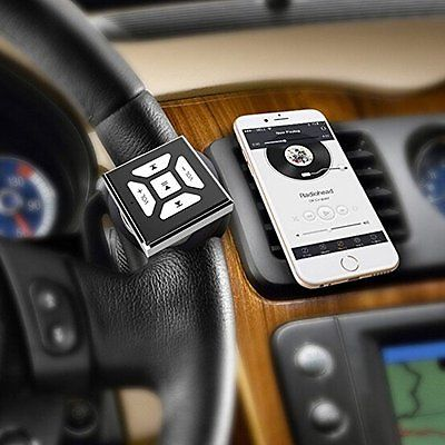 Bluetooth Media Button Car Wireless Music Steering Wheel Remote Control Bike