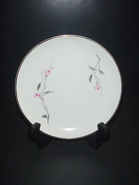 Cherry Blossom Bread Plate Fine China 1067 Japan Vintage