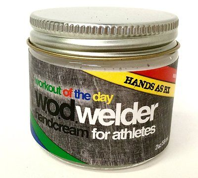 w.o.d. welder Hands AS RX Cream for Daily Conditioning (2oz)