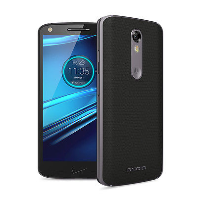 Motorola Droid Turbo 2 - 32GB - Black Soft Grip Smartphone