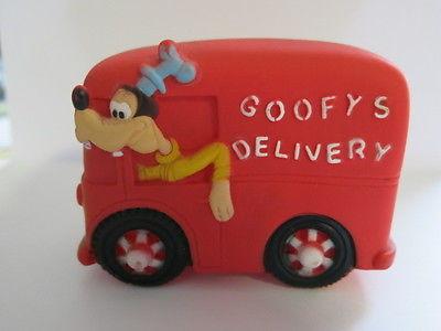 Vintage Disney Goofy Delivery Van