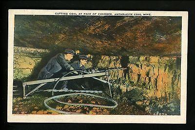 Mining Industry postcard Anthracite Coal Mine linen card Vintage