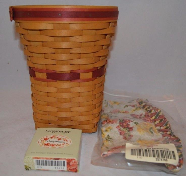 Longaberger 1998 May Series Snapdragon Basket 10863