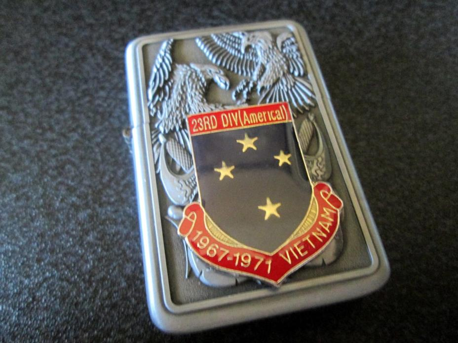 U. S. ARMY 23RD DIVISION AMERICAL VIETNAM VETERAN LIGHTER