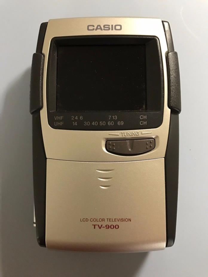 Vintage Casio TV-900B 2