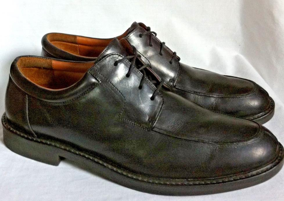 $135 JOHNSTON & MURPHY Split Toe Lace-Up Oxfords Dress Shoes Mens Size US 12 M
