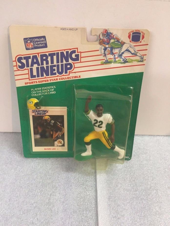 1988 Starting Lineup Football - Mark Lee - VHTF