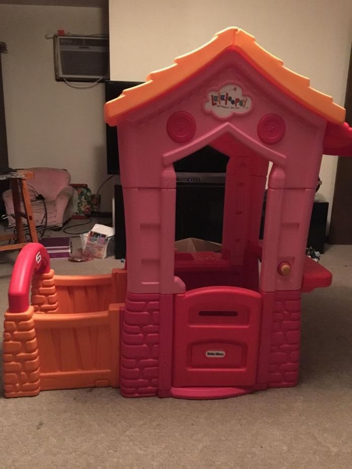 lalaloopsy littke tikes playhouse