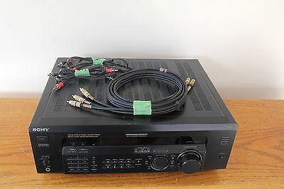 SONY STR- DE635 AV CONTROL RECEIVER -- TESTED -- 500 watts