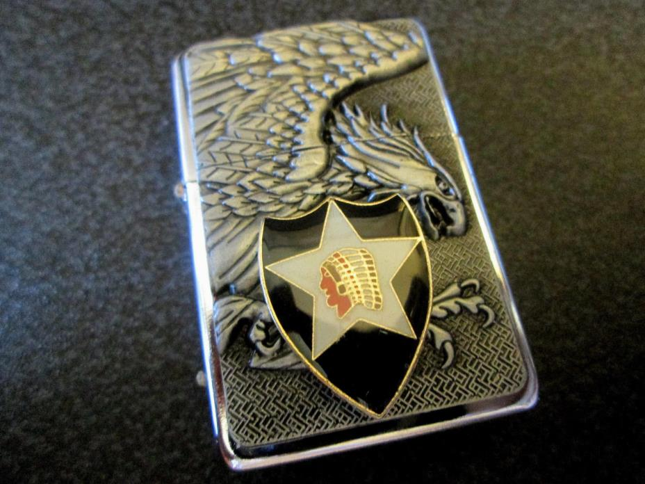 U. S. ARMY 2ND INFANTRY DIVISION LIGHTER