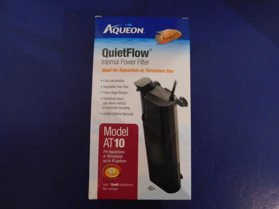 Aqueon 10-Gallon QuietFlow Internal Filter, Mini