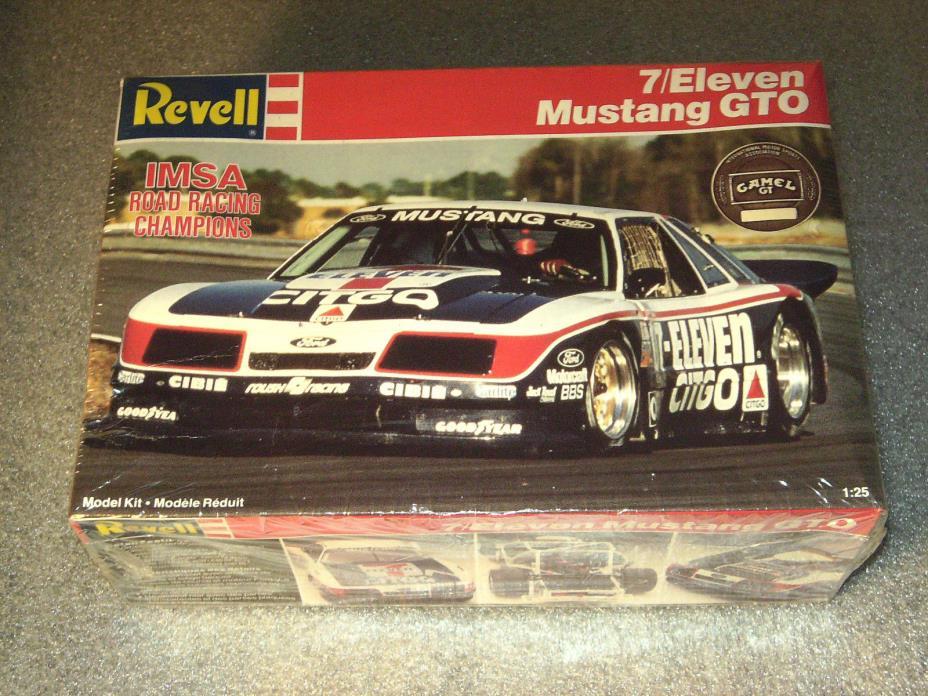 Revell 1/25 scale7/Eleven Mustang GTO IMSA kit #7153