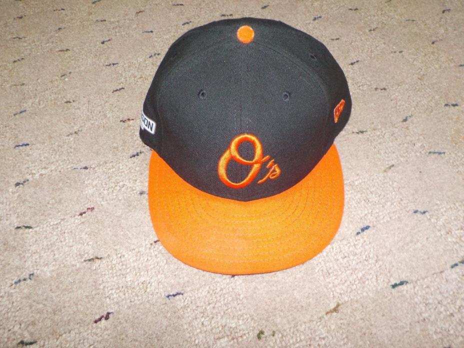 Chris Tilman Baltimore Orioles Game hat hat 2016 post season MLB Cert