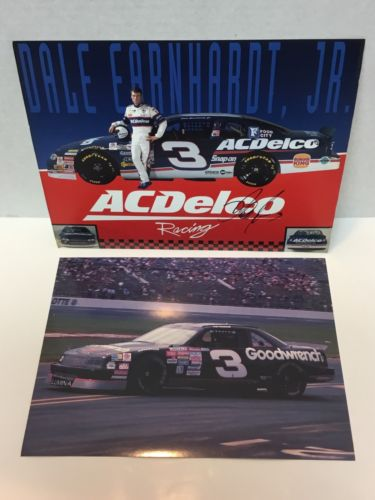 Dale Earnhardt Jr Signed Auto Photo ACDelco Racing #3