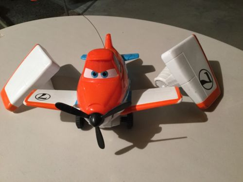 Disney Pixar Planes Wing Control Dusty Crophopper Radio Remote Control Toy 10