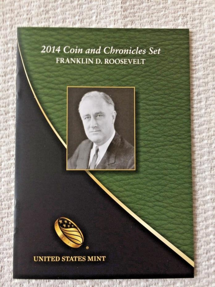 2014 FRANKLIN D ROOSEVELT LOW MINTAGE FDR       COIN and CHRONICLES SET