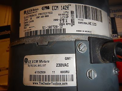 Ge Condenser Motor - For Sale Classifieds