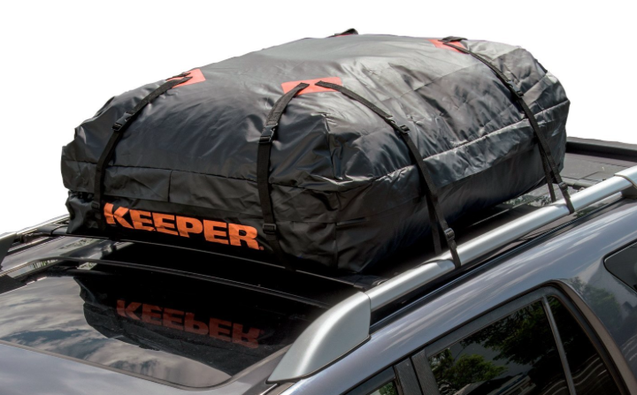 Keeper Waterproof Roof Top Cargo Bag Car Truck Van Softop Storage 15 Cubic Feet