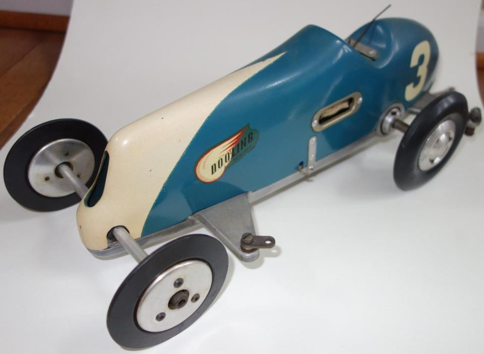 DOOLING BLUE ARROW TETHER CAR WITH DOOLING 61 IGNITION ENGINE #5599 PURE BEAUTY