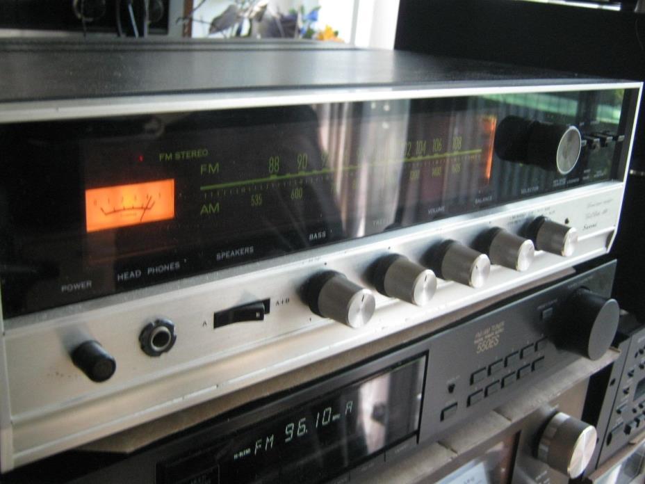 ? Vintage Sansui 350 Stereo Receiver
