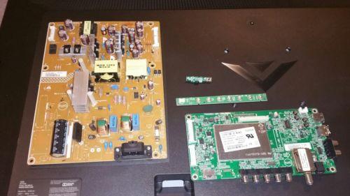 Vizio E390-A1 Main Board, Power Board, IR Sensor, and Power Button Board