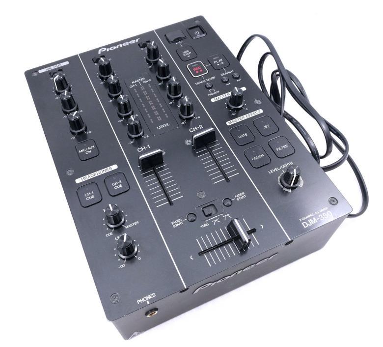 Pioneer DJM 350 DJ Mixer -  2 Channel Mixer